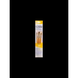 Pinceles Princeton RealValue Mango Corto Amarillo Pelo Sintético Set 3 (1)