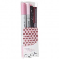 COPIC CIAO DOODLE PACKS: PINK (4 LÁPICES)