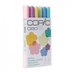 COPIC CIAO SET 6 - BRIGHTS