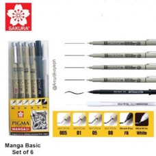 Set Manga Pigma Micron